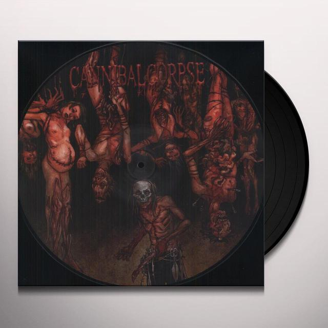 Cannibal Corpse TORTURE Vinyl Record - Canada Import
