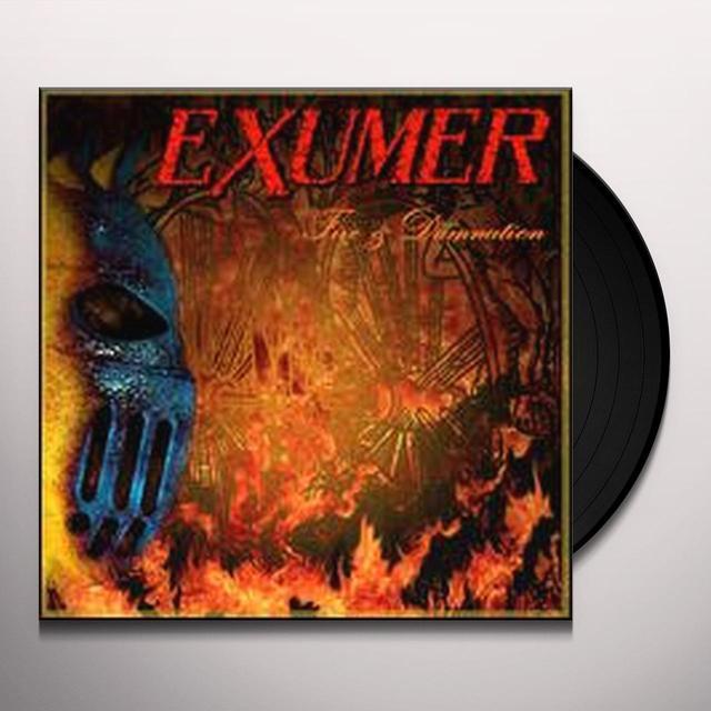 Exumer FIRE & DAMNATION Vinyl Record - UK Import