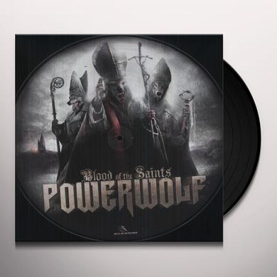 Powerwolf BLOOD OF THE SAINTS Vinyl Record