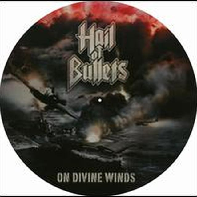 Hail Of Bullets ON DIVINE WINDS Vinyl Record
