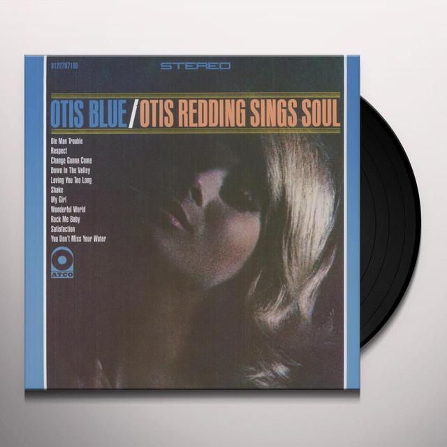 OTIS BLUE / OTIS REDDING SINGS SOUL Vinyl Record