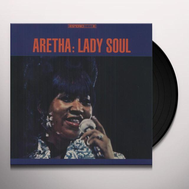 Aretha Franklin LADY SOUL Vinyl Record - 180 Gram Pressing