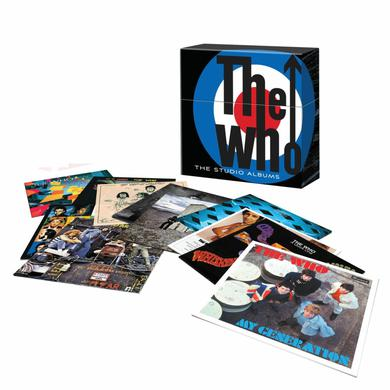"The Who ""Complete Studio Recordings"" Limited Edition Box Set (Vinyl)"