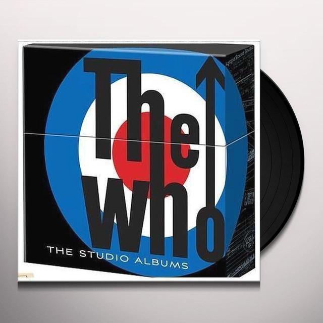 Who STUDIO ALBUMS (BOX) Vinyl Record