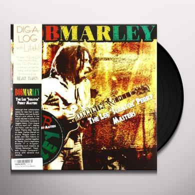 Bob Marley LEE SCRATCH PERRY MASTERS Vinyl Record - w/CD