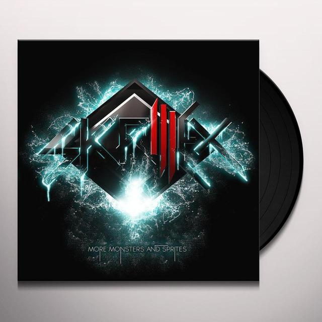 Skrillex MORE MONSTERS & SPRITES (EP) Vinyl Record - 180 Gram Pressing, Digital Download Included