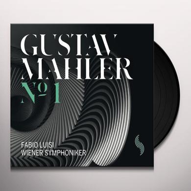 Mahler / Vienna Symphony Orchestra / Luisi SYMPHONY NO. 1 Vinyl Record