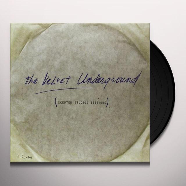 The Velvet Underground SCEPTER STUDIOS ACETATE Vinyl Record - 180 Gram Pressing