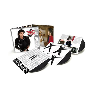 Michael Jackson BAD: 25TH ANNIVERSARY Vinyl Record
