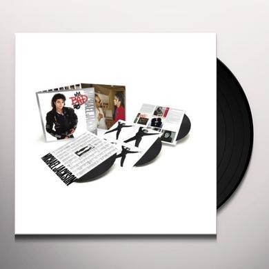 Michael Jackson BAD: 25TH ANNIVERSARY Vinyl Record - 180 Gram Pressing