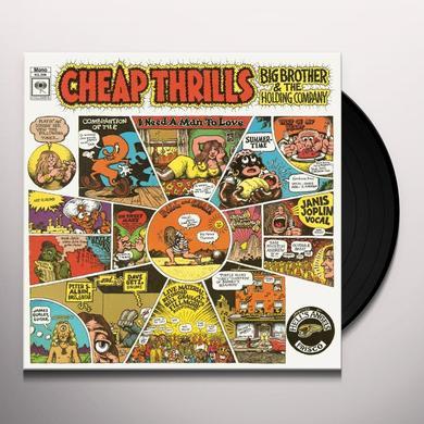 Big Brother & The Holding Company CHEAP THRILLS Vinyl Record - Mono