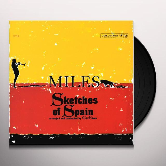Miles Davis SKETCHES OF SPAIN Vinyl Record - Mono