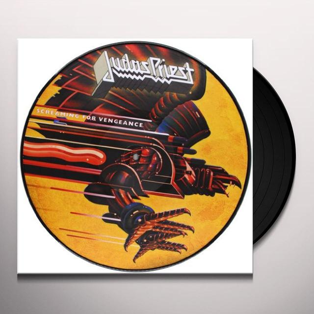 Judas Priest SCREAMING FOR VENGEANCE Vinyl Record - Picture Disc