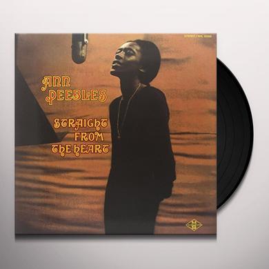 Ann Peebles STRAIGHT FROM THE HEART Vinyl Record - 180 Gram Pressing