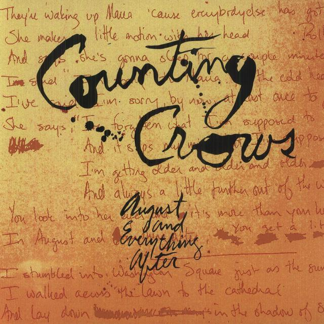 Counting Crows AUGUST & EVERYTHING AFTER Vinyl Record