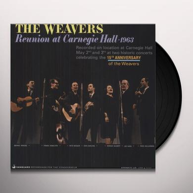 Weavers REUNION AT CARNEGIE HALL 1963 Vinyl Record
