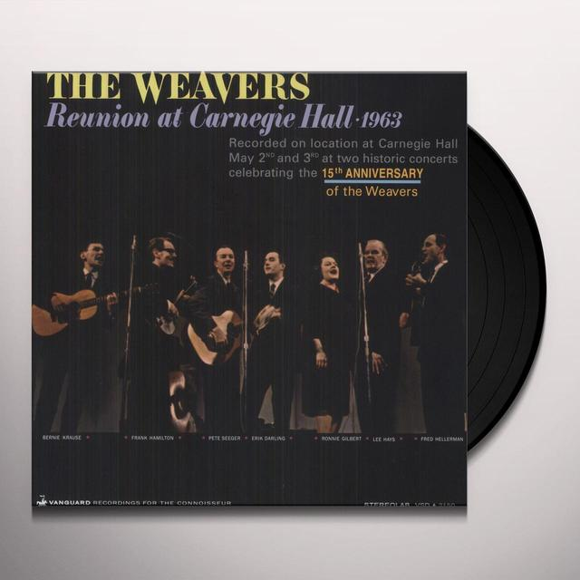 Weavers REUNION AT CARNEGIE HALL 1963 Vinyl Record - 200 Gram Edition