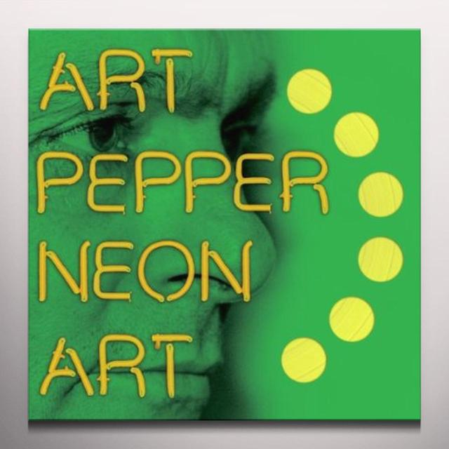 Art Pepper NEON ART 3 Vinyl Record - Colored Vinyl, Digital Download Included