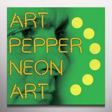 Art Pepper NEON ART 3 Vinyl Record - Colored Vinyl, Digital Download Included