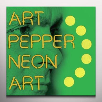 Art Pepper NEON ART 3 Vinyl Record