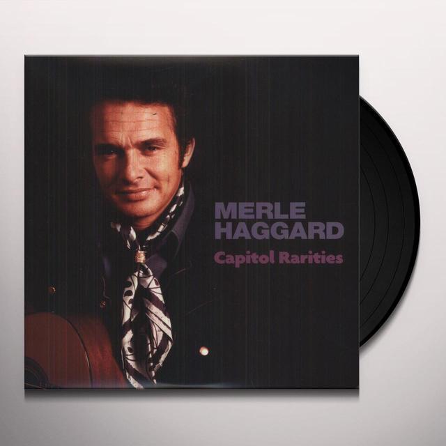 Merle Haggard CAPITOL RARITIES (EP) (Vinyl)