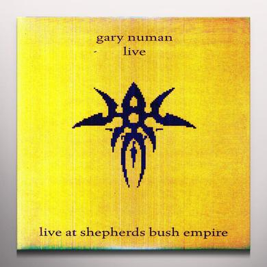 Gary Numan LIVE AT SHEPHERDS BUSH Vinyl Record - Colored Vinyl, 180 Gram Pressing