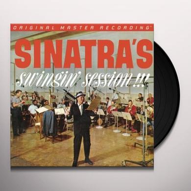 Frank Sinatra SINATRA'S SWINGIN SESSION Vinyl Record
