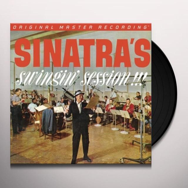 Frank Sinatra SINATRA'S SWINGIN SESSION Vinyl Record - Limited Edition, 180 Gram Pressing