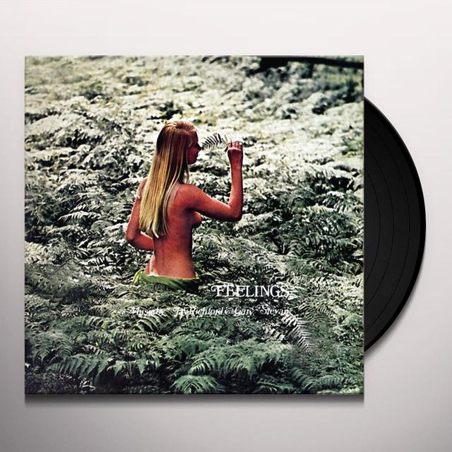 Stefano Torossi FEELINGS Vinyl Record - Limited Edition, Reissue