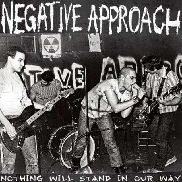 Negative Approach NOTHING WILL STAND IN OUR WAY Vinyl Record - Reissue