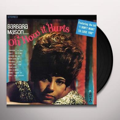 Barbara Mason OH HOW IT HURTS Vinyl Record