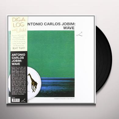 Antonio Carlos Jobim WAVE Vinyl Record