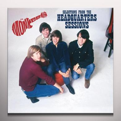 The Monkees SELECTIONS FROM THE HEADQUARTERS SESSIONS Vinyl Record - Colored Vinyl