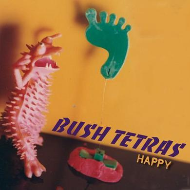 Bush Tetras HAPPY Vinyl Record