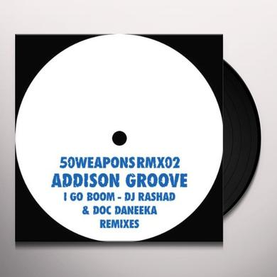 Addison Groove I GO BOOM Vinyl Record - Remixes