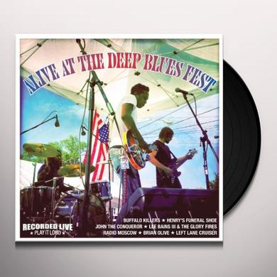 ALIVE AT THE DEEP BLUES FEST / VARIOUS Vinyl Record
