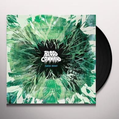 Blood Command FUNERAL BEACH Vinyl Record - w/CD