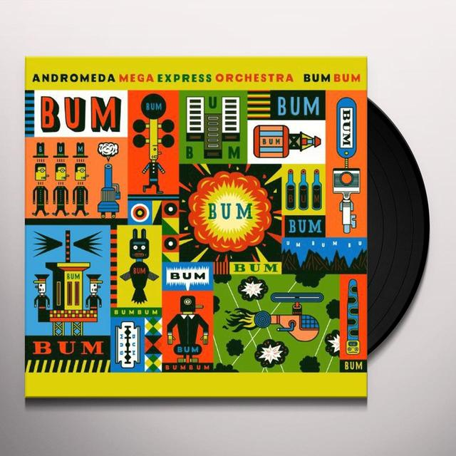 Andromeda Mega Express Orchestra BUM BUM Vinyl Record