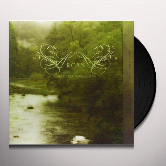 Arcana AS BRIGHT AS A THOUSAND SUNS Vinyl Record - Limited Edition