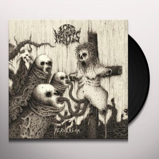 Lord Mantis PERVERTOR Vinyl Record
