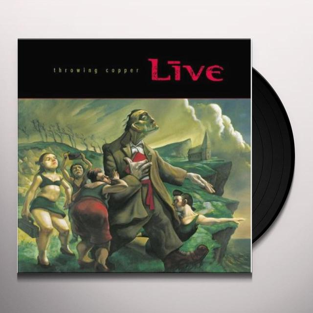Live THROWING COPPER Vinyl Record - Holland Import