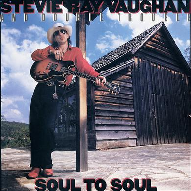 Stevie Ray Vaughan SOUL TO SOUL Vinyl Record