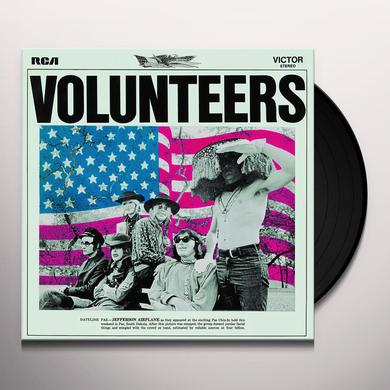 Jefferson Airplane VOLUNTEERS Vinyl Record