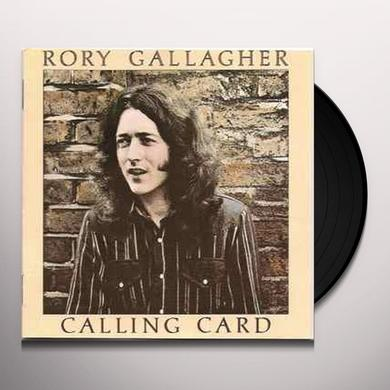 Rory Gallagher CALLING CARD Vinyl Record