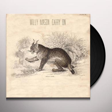 Willy Mason CARRY ON Vinyl Record