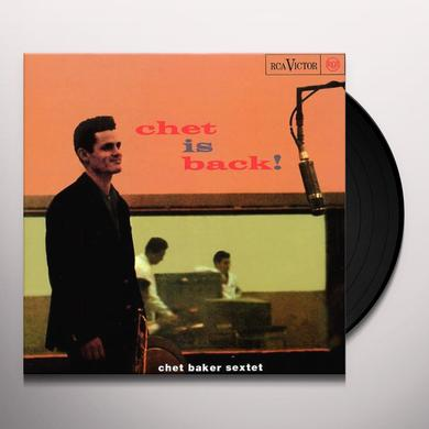 Chet Baker CHET IS BACK Vinyl Record - 180 Gram Pressing, Reissue