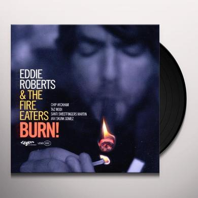 Eddie Roberts BURN Vinyl Record
