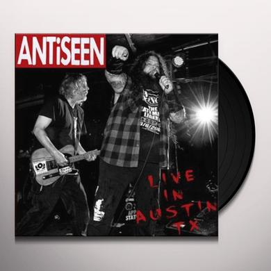 Antiseen LIVE IN AUSTIN TX Vinyl Record - Limited Edition, Digital Download Included