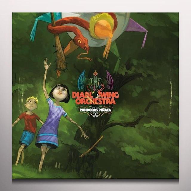 Diablo Swing Orchestra PANDORAS PINATA Vinyl Record - Colored Vinyl, 180 Gram Pressing