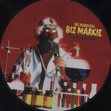 Biz Markie BIZ NEVER SLEEPS Vinyl Record - Picture Disc